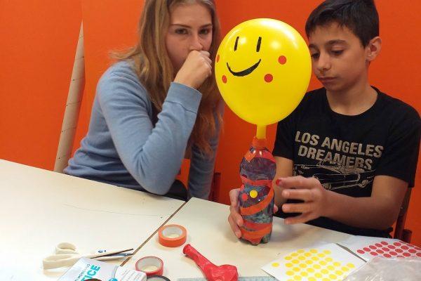 Laboratorio creativo con la scuola secondaria D.Buzzati